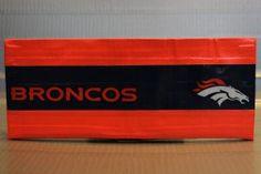 Duct Tape Wallet (Bi-Fold) - Denver Broncos, $15.  We are also on Etsy at:  www.junorduck.etsy.com.