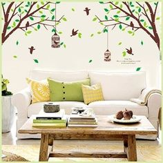 Removable Wall Sticker Decal-Big Tree http://enewmall.com/
