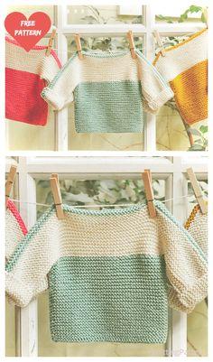 French Macaroon Baby Sweater - Free Knitting Pattern - knitting baby patterns , French Macaroon Baby Sweater - Free Knitting Pattern Free Knitting Pattern To test. Crochet Baby Sweater Pattern, Baby Sweater Patterns, Knit Headband Pattern, Baby Knitting Patterns, Baby Patterns, Crocheting Patterns, Crochet Pattern, Baby Pullover Muster, Pullover Pullover