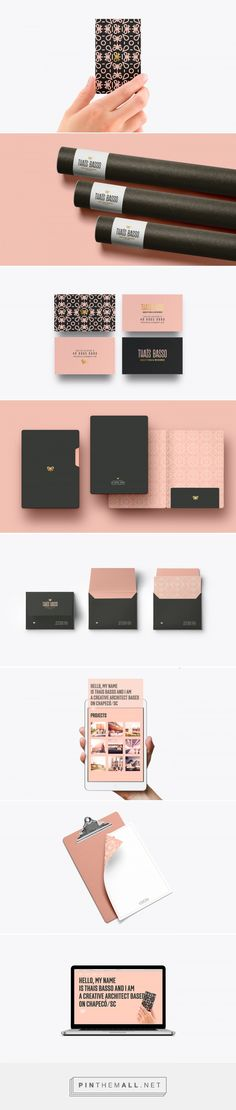 Thais Basso Architecture Branding by Matheus Corseuil | Fivestar Branding Agency – Design and Branding Agency & Curated Inspiration Gallery
