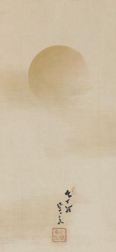 """Golden Sun."" Japan, Meiji era, 1878 - Kikuchi Yosai"