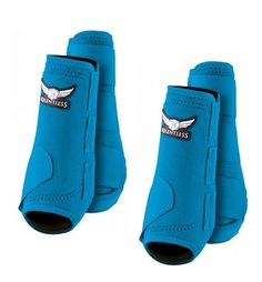 Relentless All Around Sport Boots Turquoise (Fronts/Hinds & Bell Boots) (Large) #Relentless #SportBootsBellBoots