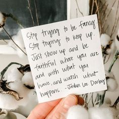 Stop trying to be fancy. Trust me, I've tried. It's exhausting. Just show up and be faithful, where you are with what you have. And watch what happens. #ownyoureveryday Inspirational Quotes For Women, Show Up, Working Woman, Trust Me, Words Of Encouragement, Woman Quotes, Author, Faith, Invitations