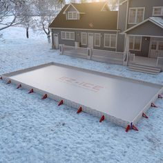 Building a backyard rink is a great way to play hockey at ...