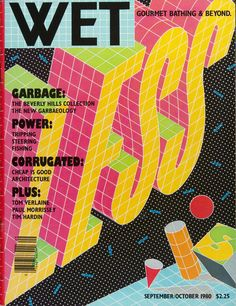WET: How the 70s California New Wave Gourmet Bathing Magazine Turns up in Berlin…