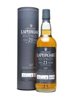 Laphoaig Islay whisky (worth to pay for the 21 years)