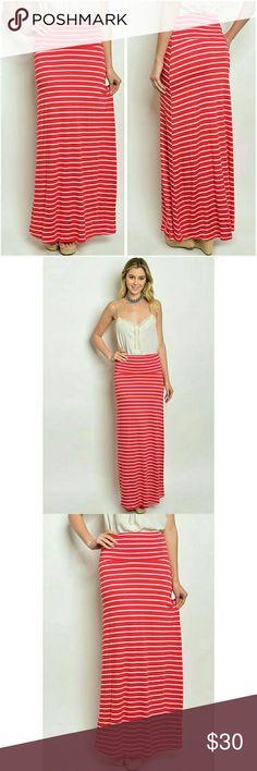 Striped Maxi Skirt | Fashion Style | Pinterest | Maxis, Maxi ...