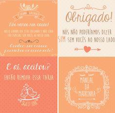 Arte para convite dos padrinhos de casamento. #convite #padrinho #madrinha #bridesmaids #casamento. Personalizamos cores e textos.