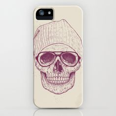 Cool skull iPhone & iPod Case by Balázs Solti - $35.00