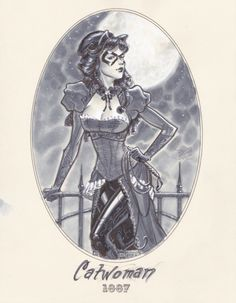 Michael Dooney catwoman | feder0v:1887 Catwoman by Michael DooneyI used to love those Elseworlds ...