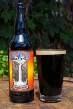 Campfire Stout - graham cracker, marshmallow and chocolate notes.  Beer Revolution - 464 3rd St Oakland