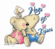 animated hugs and kisses | hugs and kisses images and e cards