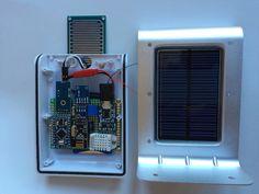 Solar powered weather station (arduino)