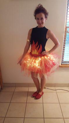 Camp fire costume- light up tutu - Kostüme - #camp #costume #fire #Kostüme #Light #tutu