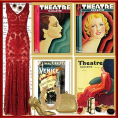"""""""Night at the theater"""" by sweetsuzieann ❤ liked on Polyvore"""
