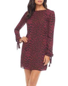 Dress the Population Dahlia Leopard-Print Shift Dress - Burgundy Leopard Multi Dress The Population, Print Shift, Sequin Mini Dress, Sheath Dress, Dresses Online, Cold Shoulder Dress, Nordstrom, Gowns, Sweaters