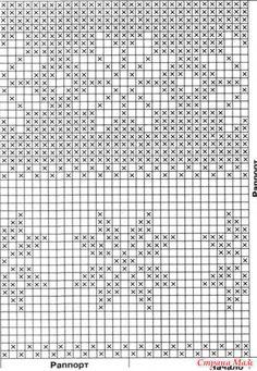 Бегемотики - Вязание для детей - Страна Мам Tapestry Crochet, Cross Stitch, Chart, Knitting, Wall, Tricot, Knits, Dots, Beanies