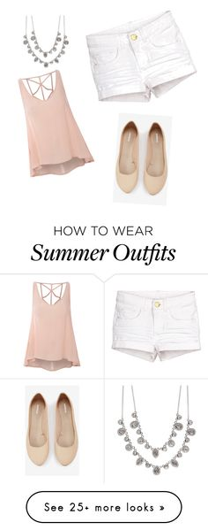 """Summer outfit!!"" by kmvahle on Polyvore featuring Glamorous, Express and Givenchy"