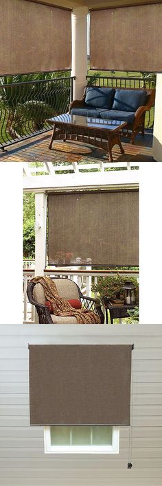 Blinds And Shades 20585 Exterior Shade Roller Outdoor Cordless Window Roll Blind Up 6Ft X Patio Sun BUY IT NOW ONLY 5886 On EBay