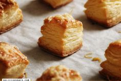 Pog'acsa-Hungarian Cheese Pastry Cheese Pastry, Savory Pastry, Cheese Puffs, Cheese Bites, Quiches, Hungarian Recipes, Croatian Recipes, Polish Recipes, Polish Food