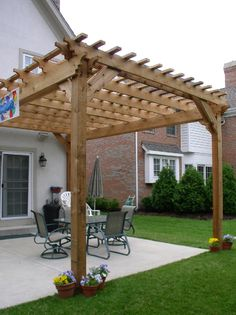 definitely want to get a pergola this yearhmm maybe if i - Free Pergola Designs For Patios