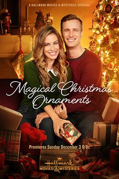 Magical Christmas Ornaments Jessica Lowndes stars as Marie who through a . , Magical Christmas Ornaments Jessica Lowndes stars as Marie who through a series of Christmas ornaments sent to her by her mum and also her hand. Películas Hallmark, Films Hallmark, Hallmark Holiday Movies, Hallmark Movie Channel, Hallmark Holidays, Romantic Christmas Movies, Family Christmas Movies, Magical Christmas, Family Movies