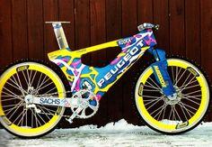 Peugeot snow bike - 1995ish
