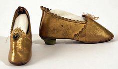 Doll Accessory    Date:      ca. 1855  Culture:      American or European  Medium:      leather