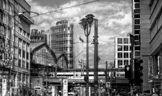 Berlin - Railway station Friedrichstrasse by pingallery