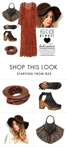 """""""Boho Chic"""" by conch-lady ❤ liked on Polyvore featuring Kenneth Jay Lane, Free People, Barbara Bonner, Zimmermann, women's clothing, women's fashion, women, female, woman and misses"""