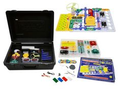 Elenco Snap Circuits Light & Sound Deluxe Combo - SC350 from AC Supply