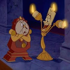 Lumiere, so happy Great Disney Movies, Disney Films, Disney Fun, Disney Frozen, Disney Pixar, Disney Beauty And The Beast, Disney And More, Beast Film, Disney Collage