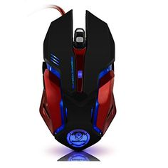 BestFire+Optical+Gaming+Mouse+Ergonomic+USB+Wired+Gaming+Mouse+Mice+with+Adjustable+3200+DPI,+6+Buttons,+4+Soothing+LED+Colors+for+PC+Laptop+Computer+Gamer
