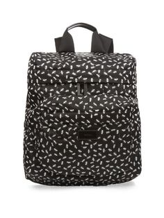 Paul Smith Shoes & Accessories Micro ant print nylon backpack
