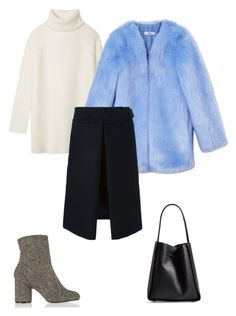 """""""The statment fur coat"""" by deborarosa ❤ liked on Polyvore featuring Tory Burch, THP, Sacai Luck, Maison Margiela and 3.1 Phillip Lim"""