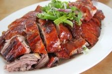 Roast Duck Recipe with Honey Orange Glaze (not sure if I am brave enough to try duck though)