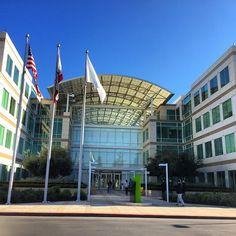 """""""Apple headquarters in Cupertino, CA #cupertino #california #apple #HQ #headquarters #infiniteloops"""""""