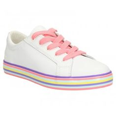 Clarks Girl's Brill Cali Casual Shoe Jnr