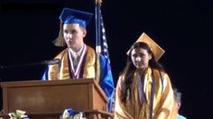 This was a truly inspiring video of a young man going against the administration's approval. Speaking as valedictorian he told the student body to ALWAYS stand for what you believe in… no matter the consequences!