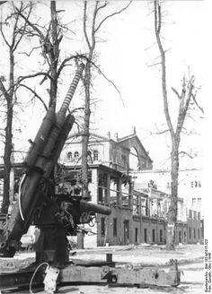 Ruins of the Kroll Opera House, Berlin, Germany, May 1945