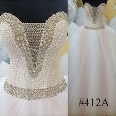 Crystal Wedding Dress Princes Wedding DressCorset