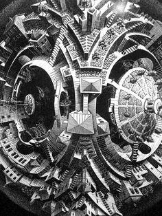 M.C. Escher is one of my favorites
