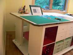 Dream Cutting Table Made By Quilts DIY From Ikea Hackers