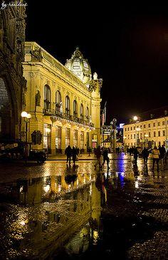 Municipal House (Obecní dům) - Prague, Czech Republic