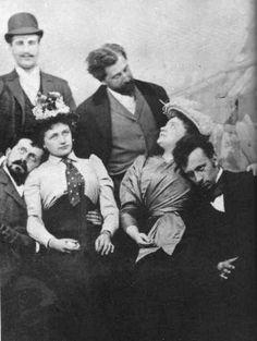 Hugo von Hofmannsthal, Richard Beer-Hofmann, Arthur Schnitzler, and Felix Salten, 1894.