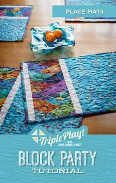It's a Triple Play at Missouri Star Quilt Co! Jenny, Misty and Natalie offer three fresh new takes on old favorites and stitch up new projects from the Best of BLOCK Magazine (including Jenny's adorable Half-Hexi Braid Place Mat)! Follow the link below to watch now! #MissouriStarQuiltCo #MSQC #TriplePlay #HalfHexiBraidPlacemat #Quilting #QuitlingTutorial #Quilt #Placemat #DIYPlacemat #JennyDoan #Sewing #FabricCrafts #Handmade