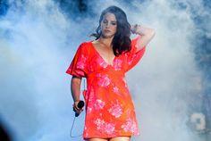 Watch Lana Del Rey Perform An Unreleased Track   - HarpersBAZAAR.com