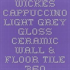 Wickes Twilight Grey Matt Porcelain Floor Tile 333x333mm