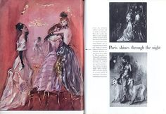 Vogue British UK February 1947 Rutledge, Lila De Nobili, René Gruau — vintage magazine