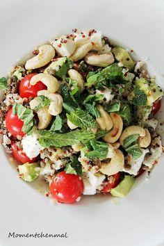[#projektzuckerfrei Woche 4] Lauwarmer Linsensalat mit buntem Quinoa [*Werbung*] – Momentchenmal